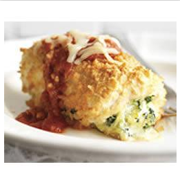 Recipe and photo credit: kraftrecipes.com/recipes/ chicken-parmesan-bundles