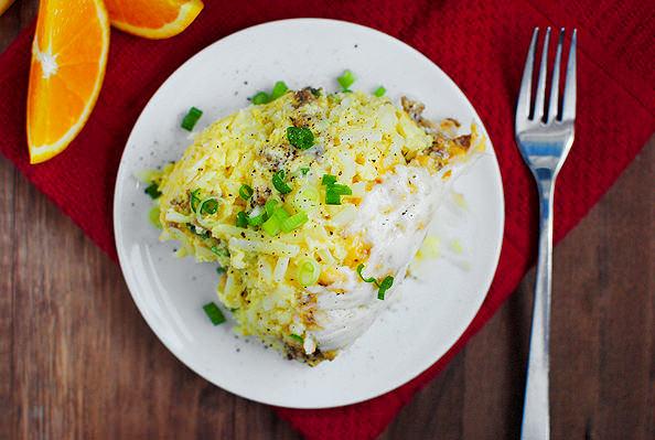 Make Ahead Crockpot Breakfast