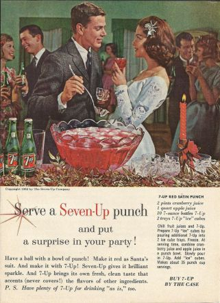 Vintage punch recipe