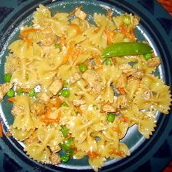 Sesame pasta